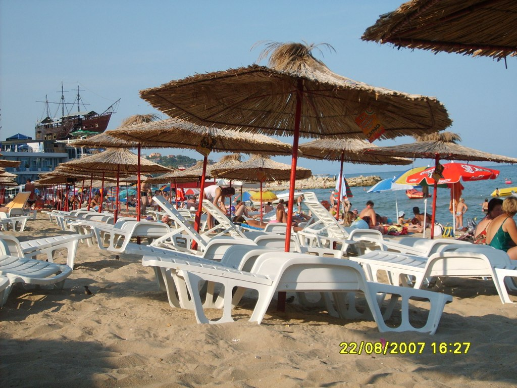 Beach in Sveti Konstantin Resort